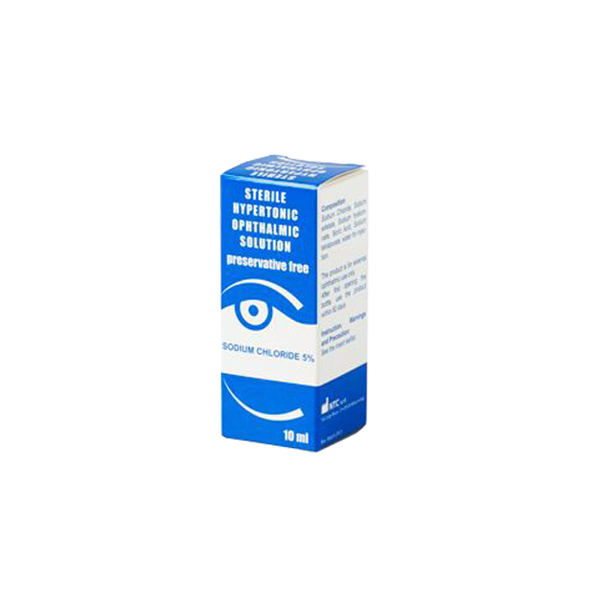 Hypertonic Ophthalmic Solution
