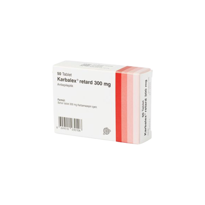 Karbalex Retard 300 mg Prolonged Relase Tablet