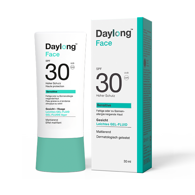 DAYLONG SENSITIVE FaceGelSPF30 30x30ml CH